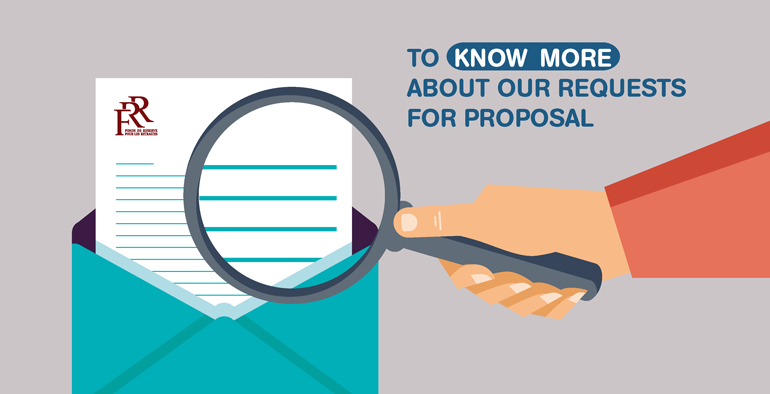To know more about our requests for proposal